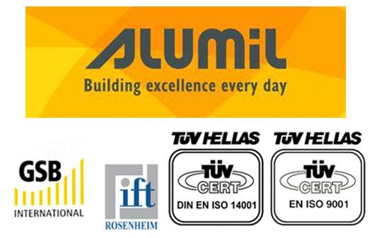 Alumil - sertifikati