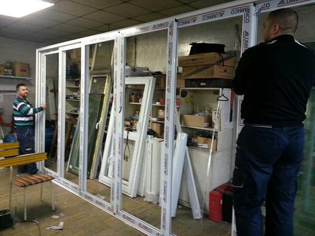 Alu klizni prozori - Galerija 1