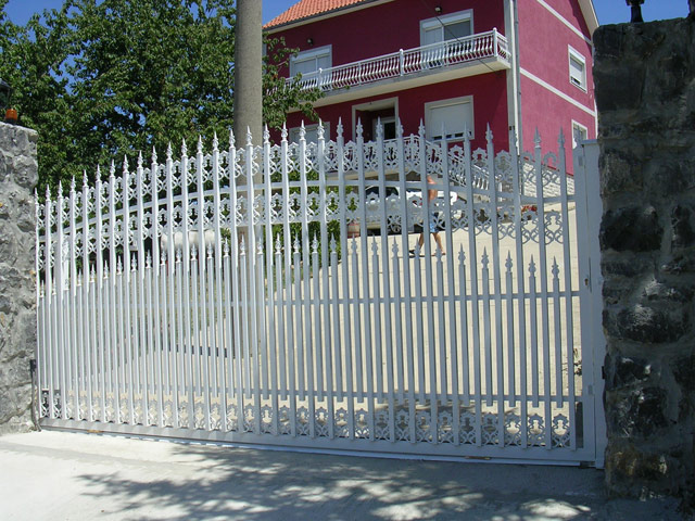 Alu ograda, alu ograde galerija 1