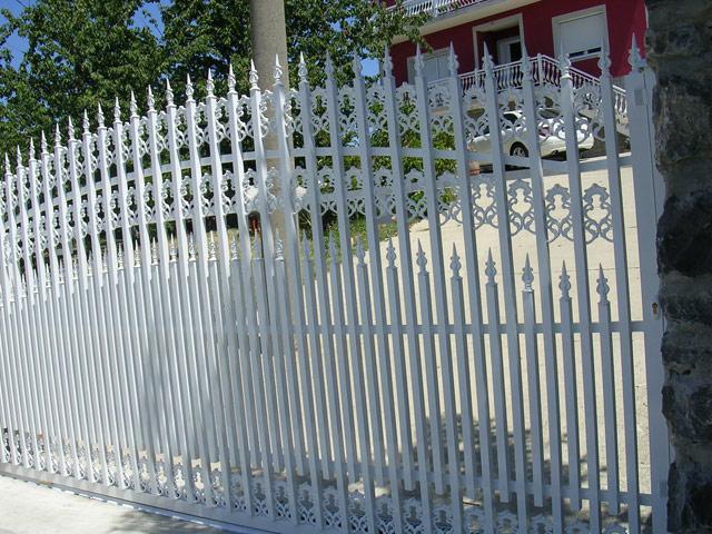 Alu ograda, alu ograde galerija 8