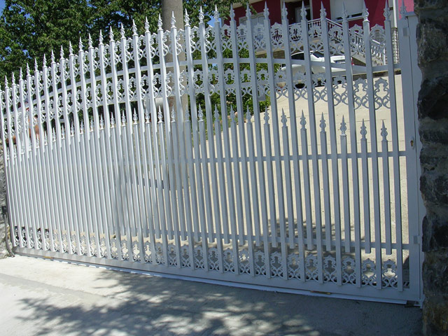 Alu ograda, alu ograde galerija 9
